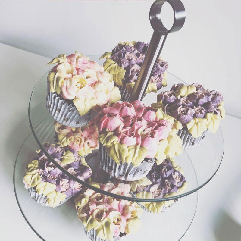 Cupcakes para comuniones