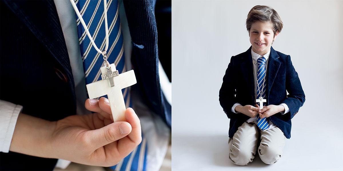 cruces infantiles para comunión