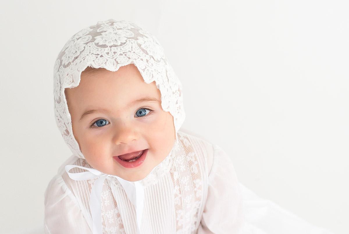 Vestido bautizo para bebés