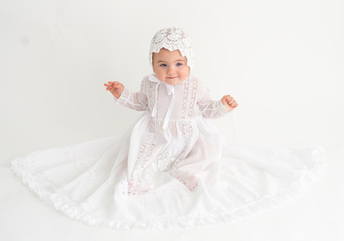 Vestido bautizo para bebe