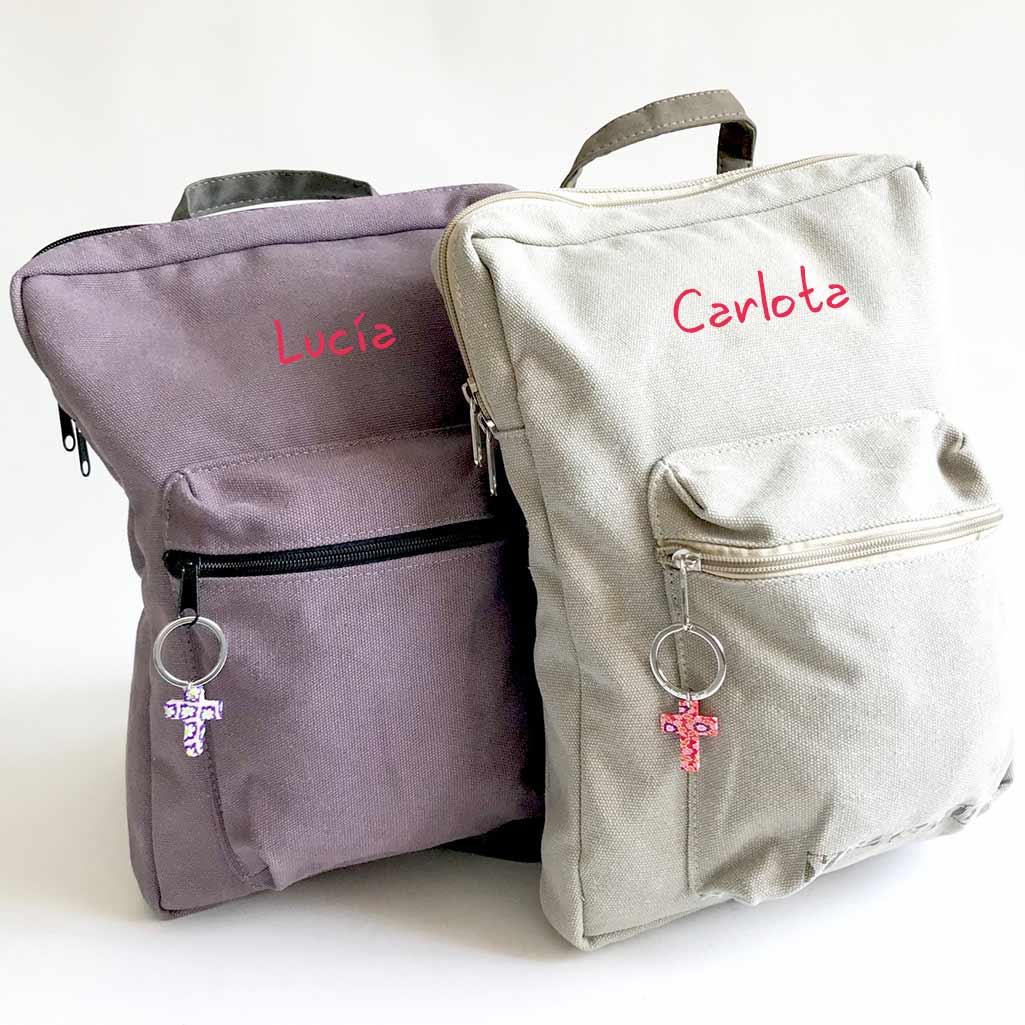 regalos de comunion originales mochila personalizada