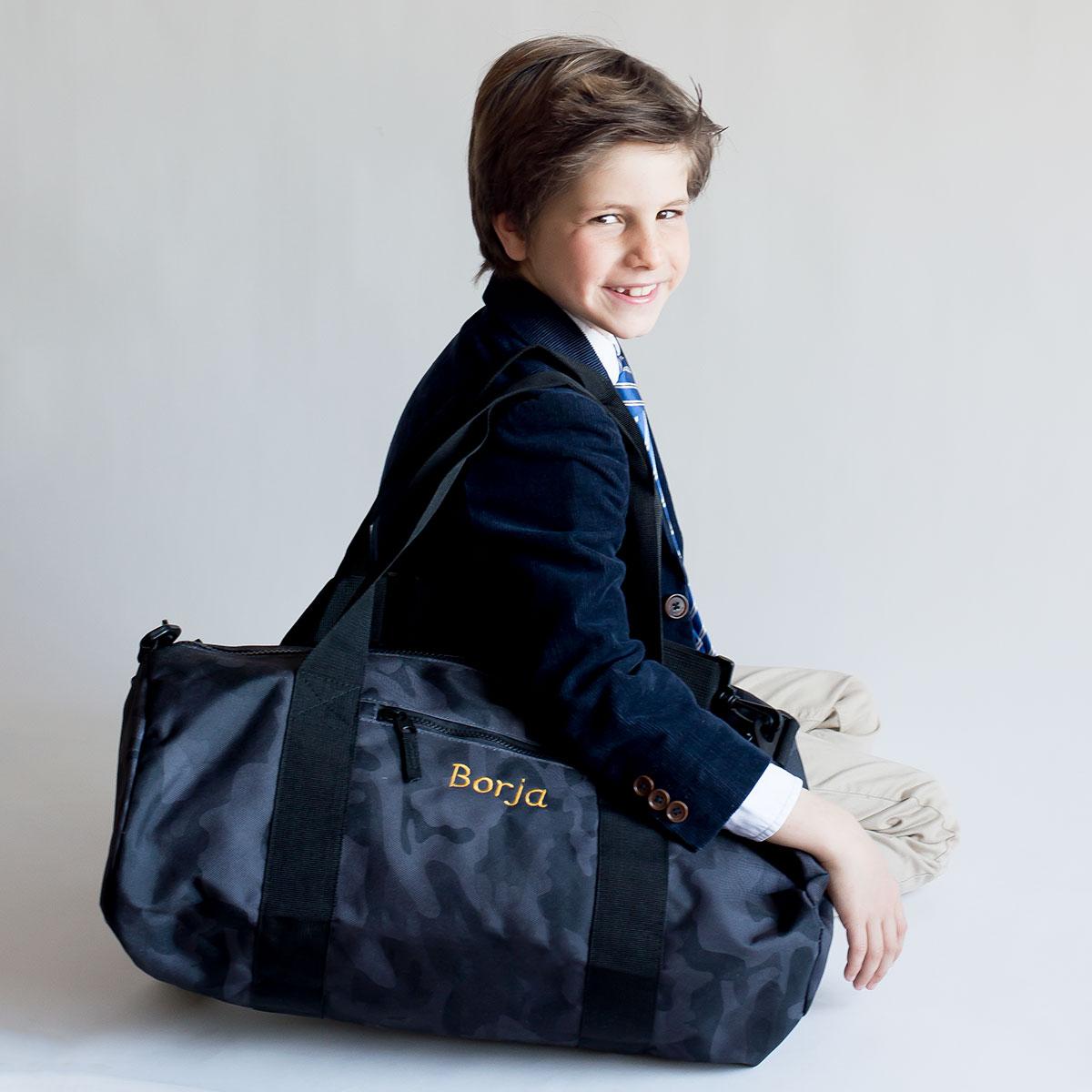 regalos comunion niño bolsa personalizada