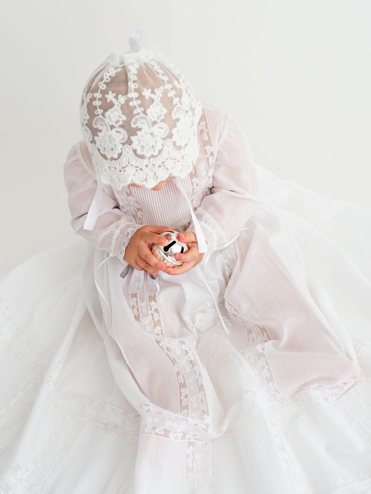 Faldón bautizo para bebé