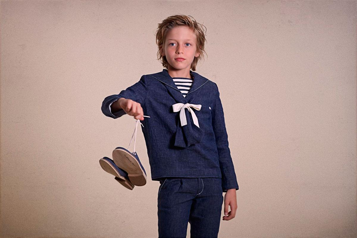 como vestir a un niño en la comunion