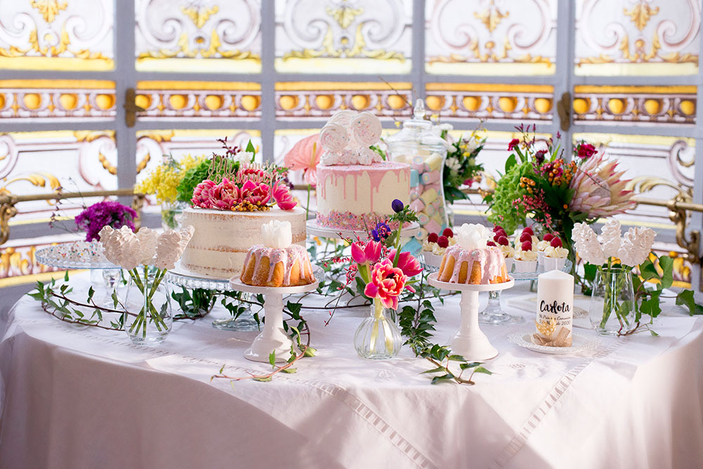 Mesa de dulces. catering Comunion