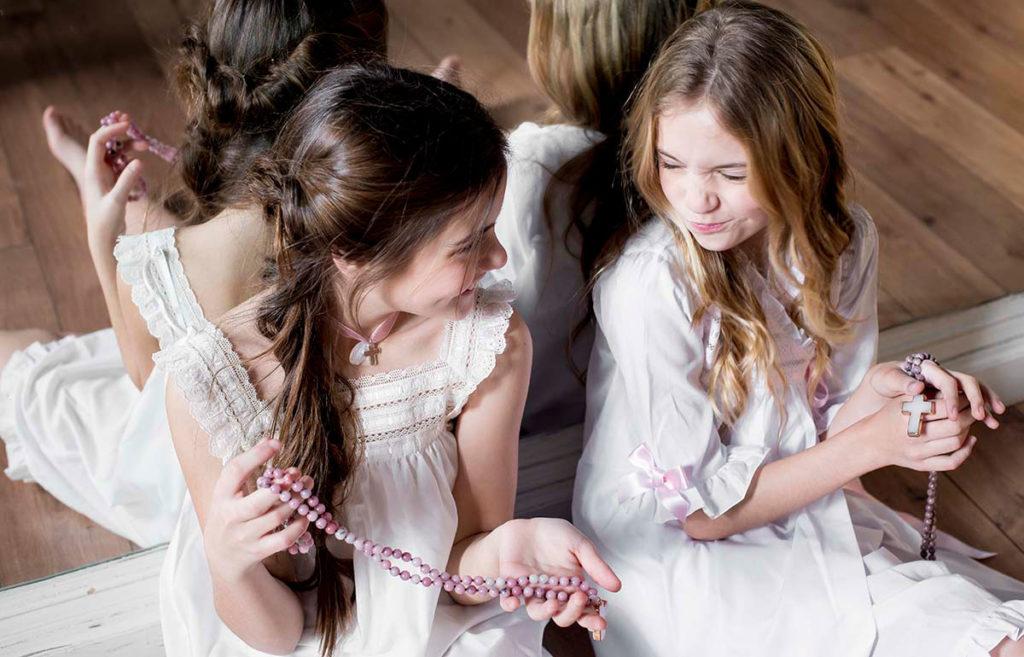 lenceria infantil para niñas de comunion