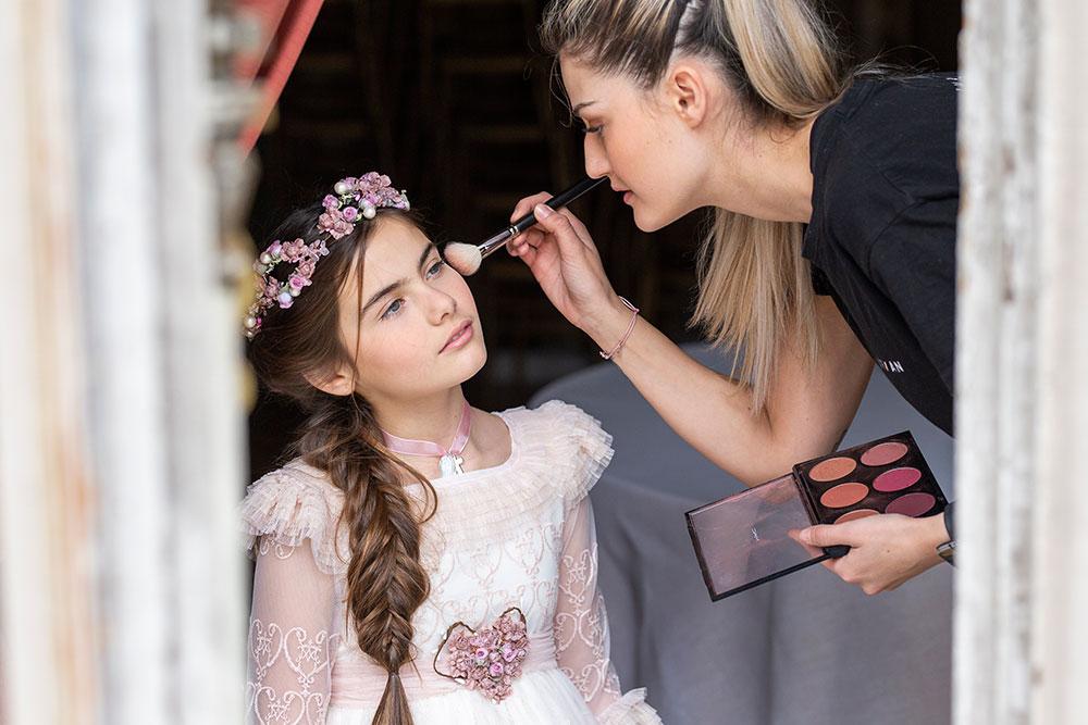Peluqueria y maquillaje Comunion