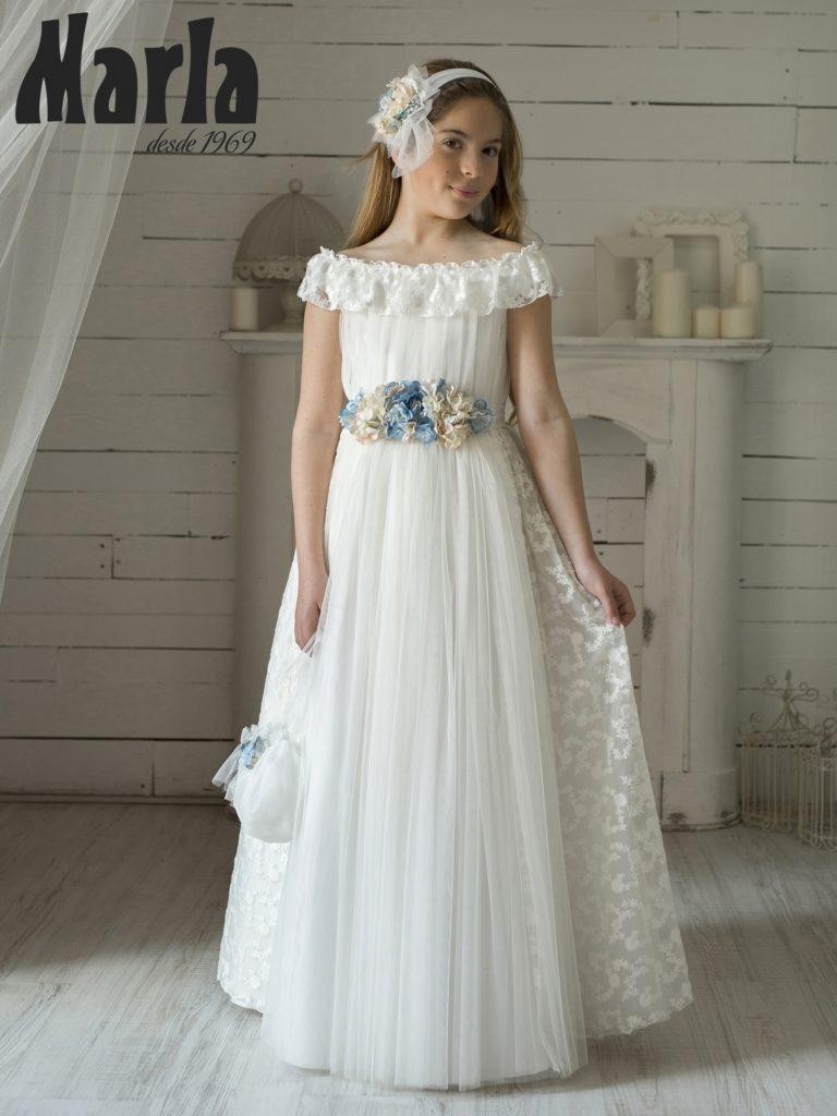 Descripción: Tendencias en vestidos de comunión para niña 2020 3