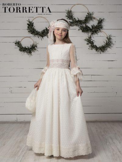 Descripción: Tendencias en vestidos de comunión para niña 2020 2