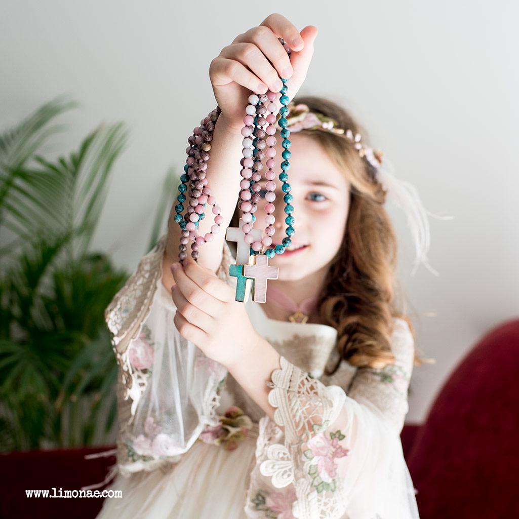cruces de comunion para niñas