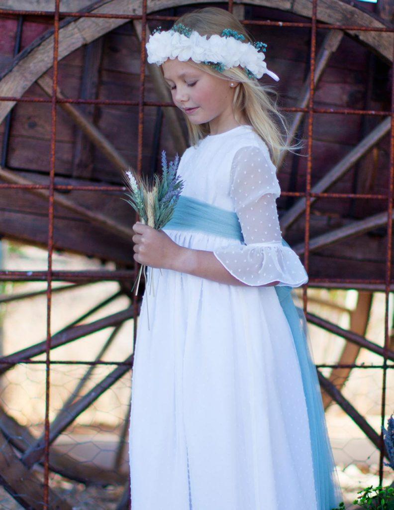 vestido de comunion el osito de claudia